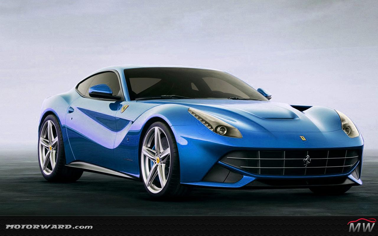Ferrari F12 Blue Www Imgkid Com The Image Kid Has It