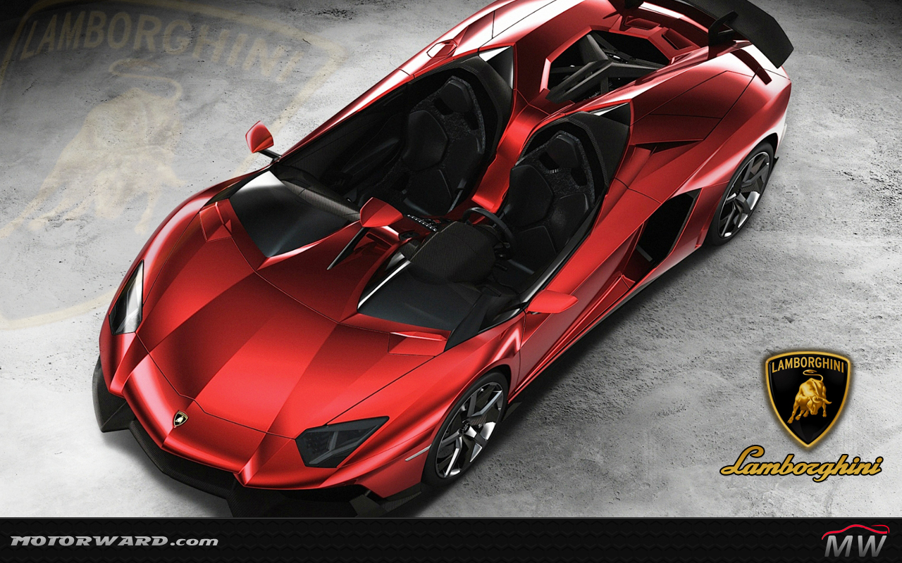 Red And Black Lamborghini Murcielago Wallpaper