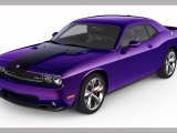 2010 Dodge Challenger SRT8 - Plum Crazy