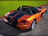 2010 Dodge Viper SRT10 Roadster in Toxic Orange Pearl Coat with