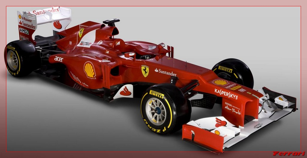 2012 F1 Ferarri Technical Sp…