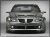 thumbs 2008 pontiac g8 front at Pontiac History & Photo Gallery