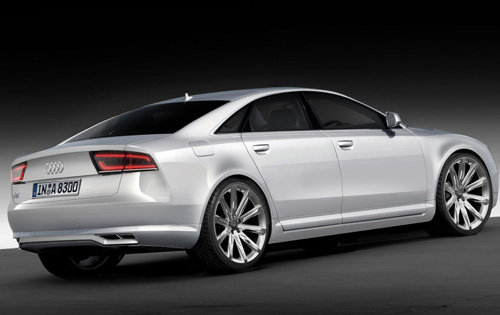 2010 Audi A8 was expected to debut at this year's Frankfurt Motorshow,