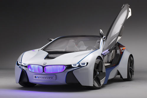 BMW Vision Efficient Dynamics Concept revealed BMW Vision EfficientDynamics 1