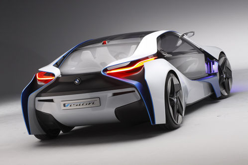 BMW Vision Efficient Dynamics Concept revealed BMW Vision EfficientDynamics 3