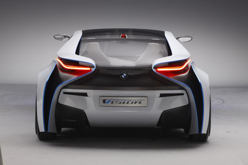 BMW Vision Efficient Dynamics Concept revealed BMW Vision EfficientDynamics 5