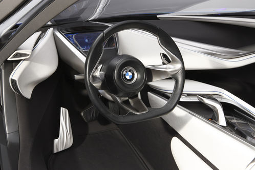 BMW Vision Efficient Dynamics Concept revealed BMW Vision EfficientDynamics 7