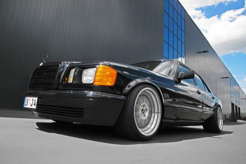 Cool: 1983 Mercedes S Class by