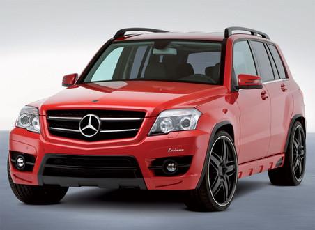 lorinser mercedes glk280 2 at mercedes glk 280 by lorinser - Mercedes Glk Red