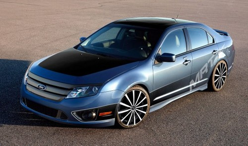 2010 ford fusion t4 by mrt at ford lineup for 2009 sema - 2010 Ford Fusion Custom Rims