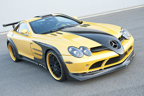 Hamann SLR Volcano Yellow Edition Hamann Volcano Production 1