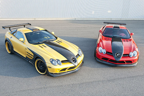 Hamann SLR Volcano Yellow Edition Hamann Volcano Production 2