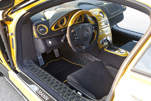 Hamann SLR Volcano Yellow Edition Hamann Volcano Production 5
