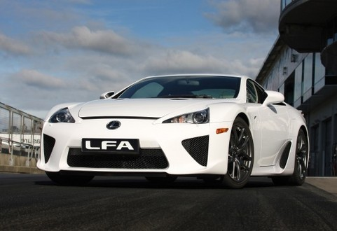 2010 Lexus LF A revealed in full   Video included lexus lfa 11