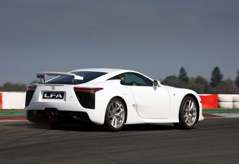 2010 Lexus LF A revealed in full   Video included lexus lfa 41