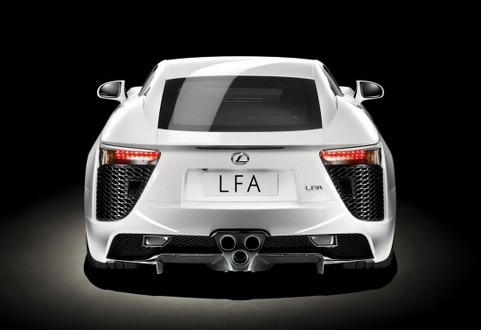 2010 Lexus LF A revealed in full   Video included lexus lfa 61