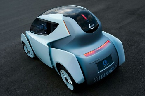 Nissan Land Glider Concept For 2009 Tms
