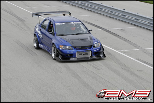 AMS Mitsubishi Evo IX Blue Demon 2 at AMS Performance Mitsubishi Evo Blue Demon