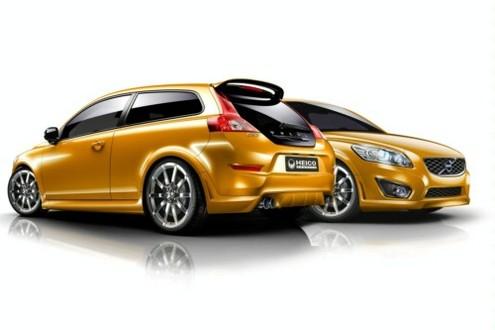Volvo C30 1.6D DRIVe by HEICO SPORTIV HEICO SPORTIV C30 3