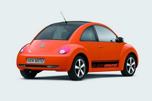 VW Beetle Black-Orange...