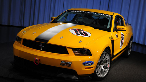2011 Ford Mustang Boss 302r. The Mustang BOSS 302R comes