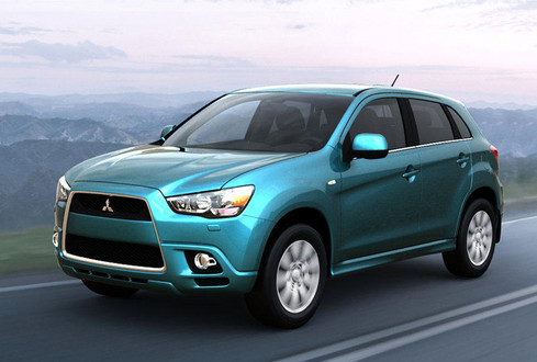 First pictures of Mitsubishi RVR Crossover Mitsubishi RVR 1