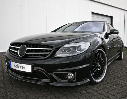 Vath unveils 745 hp mercedes cl65 amg for Mercedes benz 745