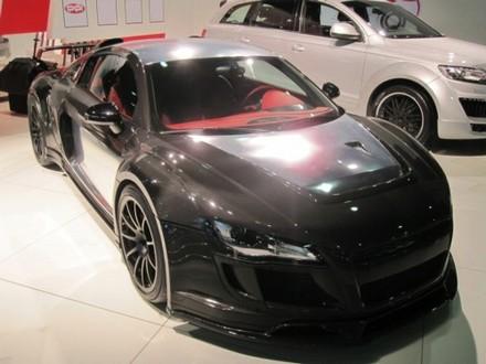 PPI Razor GTR Audi R8 in visible carbon fiber  ppi carbon r8 2
