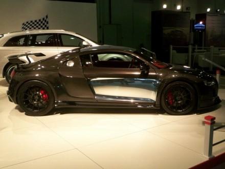 PPI Razor GTR Audi R8 in visible carbon fiber  ppi carbon r8 3