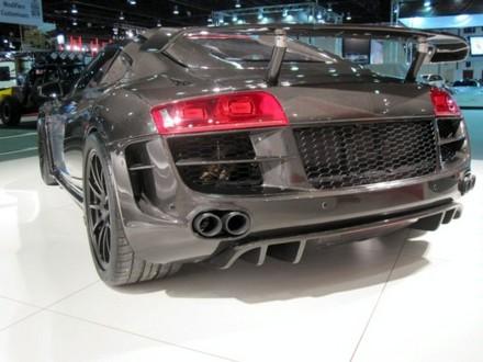 PPI Razor GTR Audi R8 in visible carbon fiber  ppi carbon r8 4