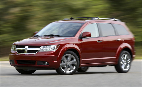 Dodge Journey Seating. New 2010 Dodge Journey models: