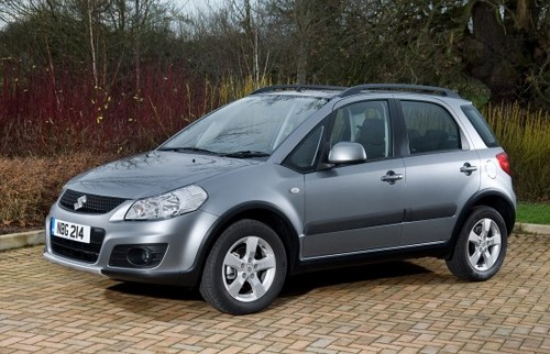Suzuki Sx4. Suzuki SX4 Gets Updated For