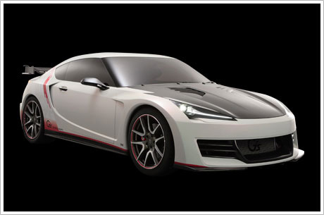 Toyota FT 86 with G Sports treatment Toyota FT 86 G Sports Concept 1