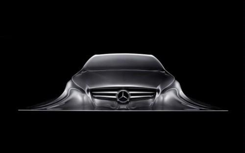 . Mercedes rising sculpture hints at new design language