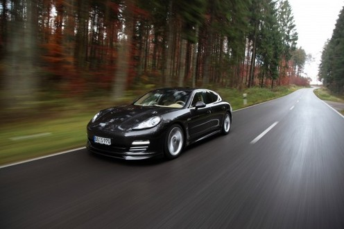 Porsche Panamera 4s Black. Porsche Panamera 4S by TECHART