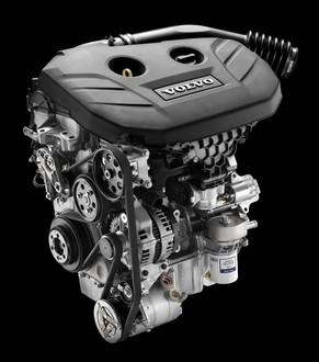 volvo introduces   liter turbo gtdi engine