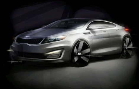 New Kia Magentis/Optima Teased
