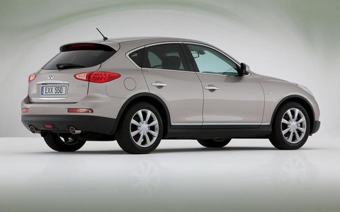 Infiniti EX30d Compact Diesel Crossover Revealed infiniti EX30d 2