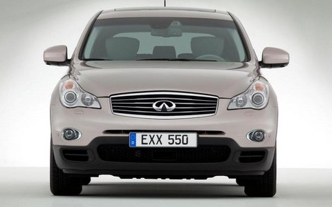 Infiniti EX30d Compact Diesel Crossover Revealed infiniti EX30d 3