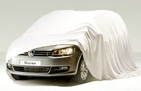 New Volkswagen Sharan 2010. New VW Sharan Teased Ahead Of