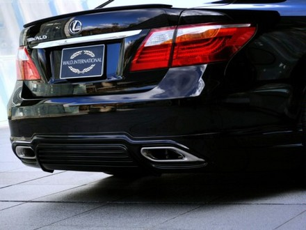 Wald Bodykit For 2010 Lexus LS460 wald lexus ls 6