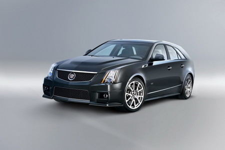 cadillac cts v sport wagon announced. Black Bedroom Furniture Sets. Home Design Ideas