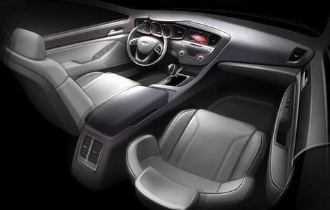 2010 Kia Optima Interior Teased