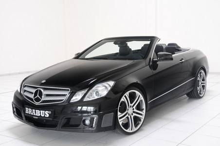 Brabus Package For Mercedes E Class Cabrio brabus eclass cabrio 1