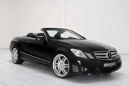 Brabus Package For Mercedes E Class Cabrio brabus eclass cabrio 4