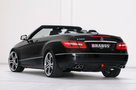 Brabus Package For Mercedes E Class Cabrio brabus eclass cabrio 5