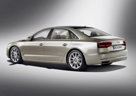 Audi A8 Lwb. 2011 Audi A8 Long Wheelbase