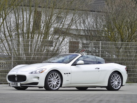 Maserati+grancabrio+red