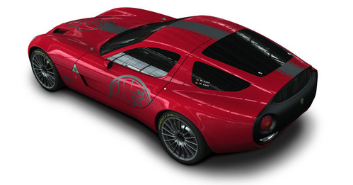 Alfa Zagato  on Of Its Donor Car 10 Alfa Romeo Tz3 Stradale Is Conceived From Zagato