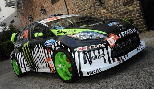 Ken Blocks 650 hp Ford Fiesta Details ken block fiesta
